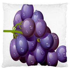 Grape Fruit Large Cushion Case (two Sides) by Mariart