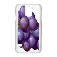 Grape Fruit Samsung Galaxy S5 Case (white) by Mariart