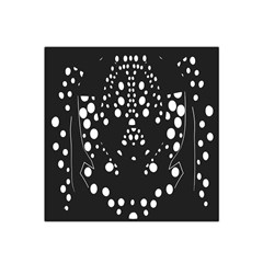 Helmet Original Diffuse Black White Space Satin Bandana Scarf by Mariart