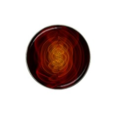 High Res Nostars Orange Gold Hat Clip Ball Marker (4 Pack) by Mariart