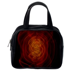 High Res Nostars Orange Gold Classic Handbags (one Side) by Mariart