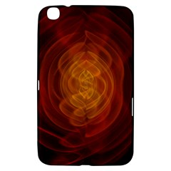 High Res Nostars Orange Gold Samsung Galaxy Tab 3 (8 ) T3100 Hardshell Case  by Mariart