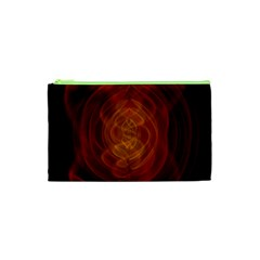 High Res Nostars Orange Gold Cosmetic Bag (xs) by Mariart