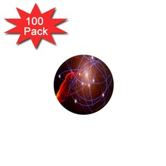 Highest Resolution Version Space Net 1  Mini Magnets (100 Pack)  by Mariart