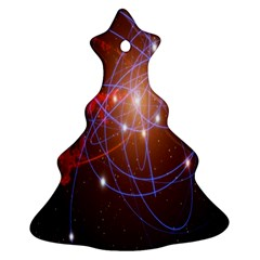 Highest Resolution Version Space Net Christmas Tree Ornament (two Sides) by Mariart