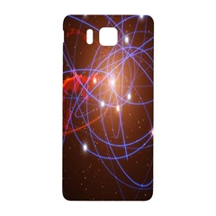 Highest Resolution Version Space Net Samsung Galaxy Alpha Hardshell Back Case by Mariart