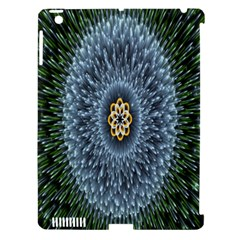 Hipnotic Star Space White Green Apple Ipad 3/4 Hardshell Case (compatible With Smart Cover) by Mariart