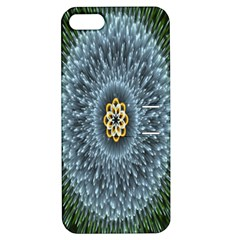 Hipnotic Star Space White Green Apple Iphone 5 Hardshell Case With Stand by Mariart