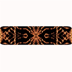 Golden Fire Pattern Polygon Space Large Bar Mats by Mariart
