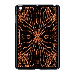 Golden Fire Pattern Polygon Space Apple Ipad Mini Case (black) by Mariart