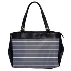 Horizontal Line Grey Pink Office Handbags by Mariart