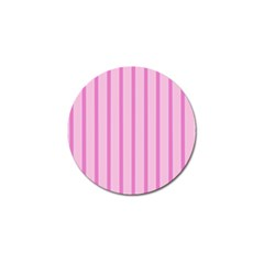 Line Pink Vertical Golf Ball Marker (10 Pack) by Mariart