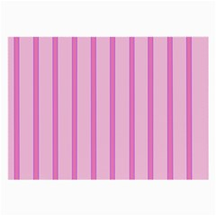 Line Pink Vertical Large Glasses Cloth by Mariart