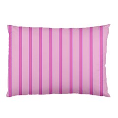 Line Pink Vertical Pillow Case by Mariart