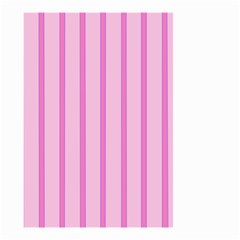 Line Pink Vertical Small Garden Flag (two Sides) by Mariart