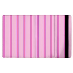 Line Pink Vertical Apple Ipad Pro 9 7   Flip Case by Mariart