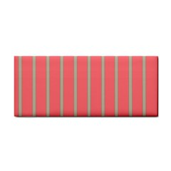 Line Red Grey Vertical Cosmetic Storage Cases by Mariart