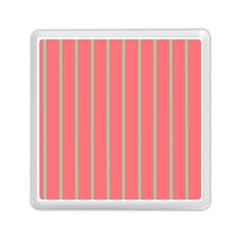 Line Red Grey Vertical Memory Card Reader (square)  by Mariart