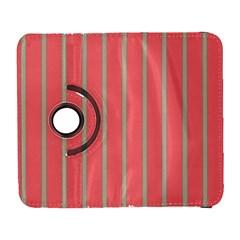 Line Red Grey Vertical Galaxy S3 (flip/folio) by Mariart
