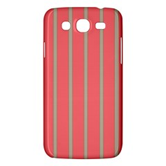 Line Red Grey Vertical Samsung Galaxy Mega 5 8 I9152 Hardshell Case  by Mariart