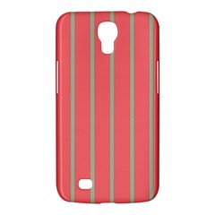 Line Red Grey Vertical Samsung Galaxy Mega 6 3  I9200 Hardshell Case by Mariart