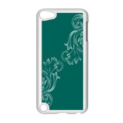 Leaf Green Blue Sexy Apple Ipod Touch 5 Case (white) by Mariart