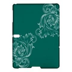 Leaf Green Blue Sexy Samsung Galaxy Tab S (10 5 ) Hardshell Case  by Mariart