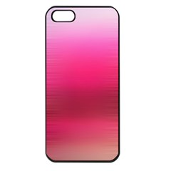 Line Pink Space Sexy Rainbow Apple Iphone 5 Seamless Case (black) by Mariart