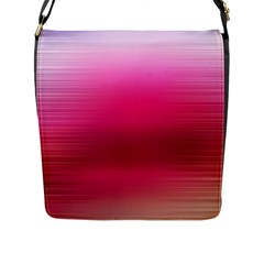 Line Pink Space Sexy Rainbow Flap Messenger Bag (l)  by Mariart