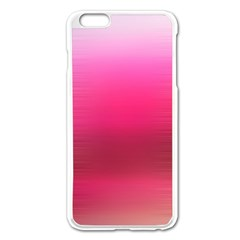 Line Pink Space Sexy Rainbow Apple Iphone 6 Plus/6s Plus Enamel White Case by Mariart