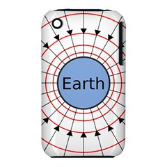Magnetik Earth s Gravitational Line Triangle Iphone 3s/3gs by Mariart