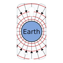 Magnetik Earth s Gravitational Line Triangle Samsung Galaxy S4 I9500/i9505 Hardshell Case by Mariart