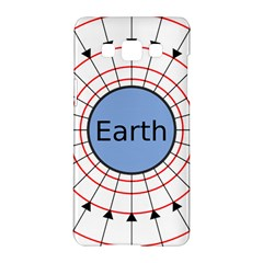 Magnetik Earth s Gravitational Line Triangle Samsung Galaxy A5 Hardshell Case  by Mariart