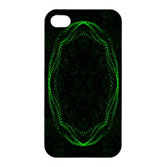 Green Foam Waves Polygon Animation Kaleida Motion Apple Iphone 4/4s Hardshell Case by Mariart
