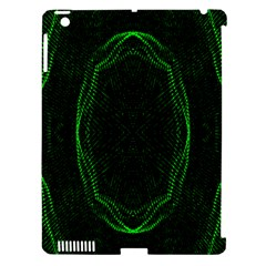 Green Foam Waves Polygon Animation Kaleida Motion Apple Ipad 3/4 Hardshell Case (compatible With Smart Cover) by Mariart