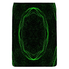Green Foam Waves Polygon Animation Kaleida Motion Flap Covers (s)  by Mariart
