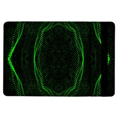 Green Foam Waves Polygon Animation Kaleida Motion Ipad Air Flip by Mariart