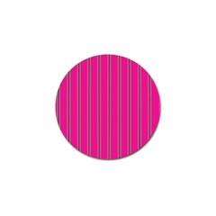 Pink Line Vertical Purple Yellow Fushia Golf Ball Marker (4 Pack) by Mariart