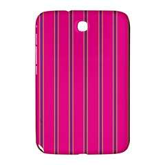 Pink Line Vertical Purple Yellow Fushia Samsung Galaxy Note 8 0 N5100 Hardshell Case  by Mariart