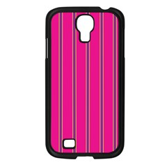Pink Line Vertical Purple Yellow Fushia Samsung Galaxy S4 I9500/ I9505 Case (black) by Mariart