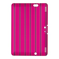 Pink Line Vertical Purple Yellow Fushia Kindle Fire Hdx 8 9  Hardshell Case by Mariart