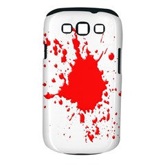 Red Blood Splatter Samsung Galaxy S Iii Classic Hardshell Case (pc+silicone) by Mariart