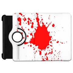 Red Blood Splatter Kindle Fire Hd 7  by Mariart