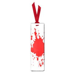 Red Blood Splatter Small Book Marks by Mariart