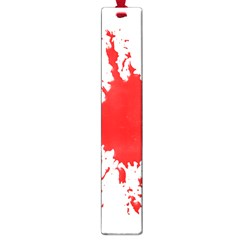 Red Blood Splatter Large Book Marks by Mariart