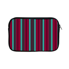 Red Blue Line Vertical Apple Ipad Mini Zipper Cases by Mariart