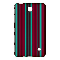 Red Blue Line Vertical Samsung Galaxy Tab 4 (8 ) Hardshell Case  by Mariart