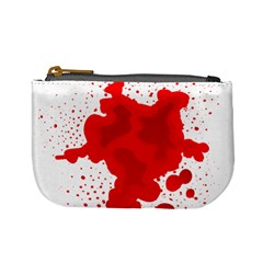 Red Blood Transparent Mini Coin Purses by Mariart