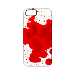 Red Blood Transparent Apple Iphone 5 Classic Hardshell Case (pc+silicone) by Mariart