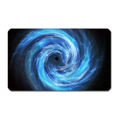 Hole Space Galaxy Star Planet Magnet (rectangular) by Mariart
